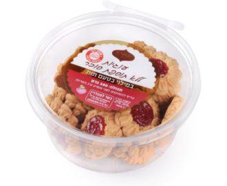עוגיות ללא תוספת סוכר במילוי תות אחוה צילום יעל האן